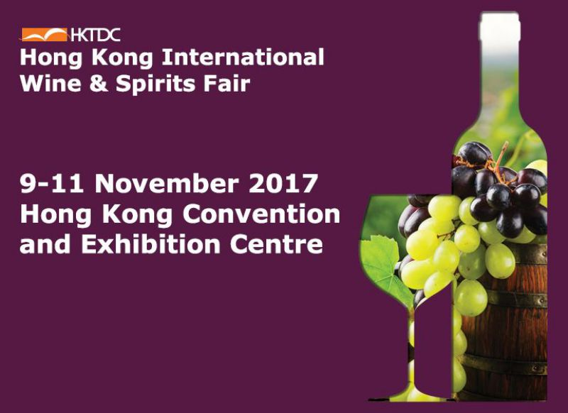 FERIA HONG KONG INTERNATIONAL WINE & SPIRITS 2017, DEL 9 AL 11 DE NOVIEMBRE DE 2017. UN PLACER ATENDERLES!