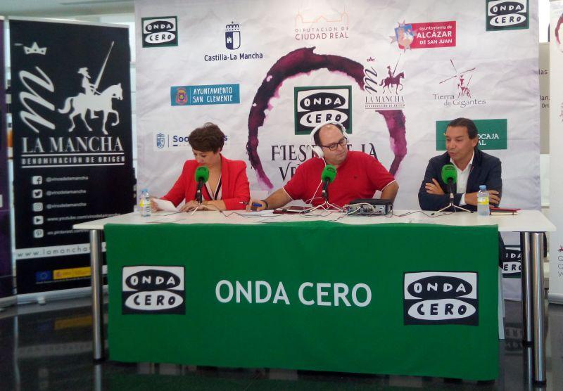 ROMÁN CANTARERO, PRESIDENTE DE VINOS  Y BODEGAS, ENTREVISTADO EN ONDA CERO